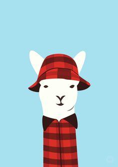 Swany Llama by Alice Berry Design