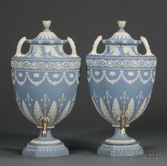 Pair of Wedgewood Urns