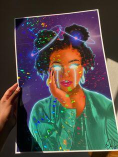 Ultraviolet-Holographic Print