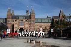 The Rijksmuseum in Amsterdam - via www.museumdiary.com