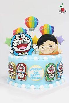 Doraemon Birthday Cake Doraemon cookies