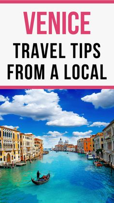 6 Essential Venice Travel Tips from a Local Planning a trip to Venice? Don't miss these secret Venice travel tips from a local that will make your trip so much easier! Italy Vacation, Vacation Trips, Dream Vacations, Italy Trip, Romantic Vacations, Romantic Travel, Places To Travel, Travel Destinations, Italy Travel Tips