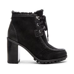 Sam Edelman Madge Bootie Shoes ($150) ❤ liked on Polyvore featuring shoes, boots, ankle booties, booties, lace up bootie, lace up high heel booties, lace up ankle booties, laced booties and lace up high heel boots