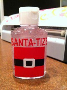 santa tize gift for teachers, stocking, etc