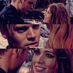 "#Shadowhunters 2x16 ""Day of Atonement"" - Clary and Jace"