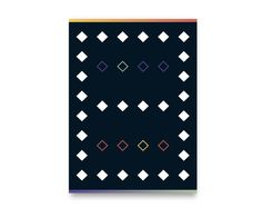 A City Awake Handwoven Rug in Black and Multicolor 3'x5'