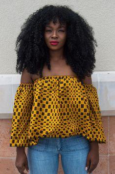 African Print Crop Tops That Make You A Perfect Guest! African Print Crop Tops That Make You A Perfect Guest! African Dresses For Women, African Print Fashion, African Attire, African Wear, African Fashion Dresses, African Prints, African Women, African Outfits, Ankara Fashion