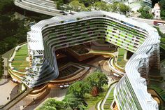 Homefarm in Singapore-Proposed retirement farming community-
