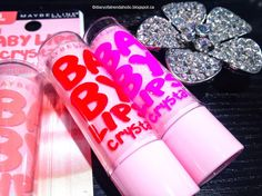 NEW Maybelline Baby Lips Crystal Lip Balms, LOVE these!! #makeup