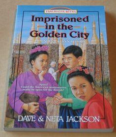 Imprisoned IN THE Golden City Trailblazer Books Dave Jackson Christian Childrens 1556612699 | eBay