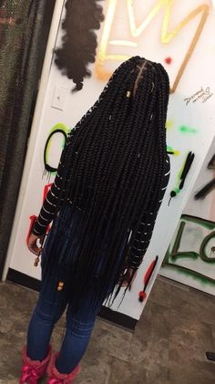 Lemonade Medium Box Braids Hairstyles To Try In African Style - Fashionuki Big Box Braids, Medium Box Braids, Blonde Box Braids, Black Girl Braids, Box Braids Styling, Long Braids, Braids For Black Hair, Girls Braids, Braids For Black Women Box