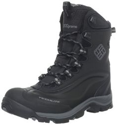 Columbia Men's Bugaboot Plus II Omni-Heat Snow Boot,Black/Charcoal,12 M US - http://authenticboots.com/columbia-mens-bugaboot-plus-ii-omni-heat-snow-bootblackcharcoal12-m-us/