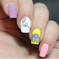 50 Cute Animal Nails #naildesignideaz #naildesign #nailart #animalnaildesign #animalnails ♥ If you enjoyed my pin, pls visit us at http://naildesignideaz.com/ ♥