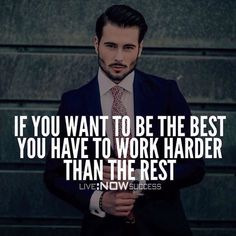 The only path to being the best is by working hard to achieve any objective.  We also need to work smarter than the rest of the crowd.  We do that by observing what's working and not working as well as learning from our mistakes.  That's how we will become the best we can be.  Great advice from @livenowsuccess.  ____________________________________ Follow our friend and one of our favorite pages @livenowsuccess  @livenowsuccess  ____________________________________ Double tap to agree and…