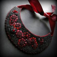w ciemnym amarancie (proj. agat.handmade), do kupienia w DecoBazaar.com