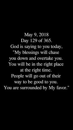 I am surrounded by God's favor