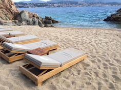 Beach Mattress ~~ Sale Mattress for sunbathing and outdoor beds Outdoor Beds, Outdoor Furniture, Outdoor Decor, Comfort Mattress, Sun Lounger, France, Beach, The Beach, Chaise Longue