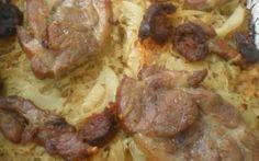 Sült tarja savanyú káposzta ágyon Sausage, Beef, Food, Drink, Meat, Beverage, Sausages, Essen, Meals