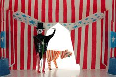 The Hase Weiss story began nearly seven years ago, when Anna Pfeiffer an architect decided to make some furniture for her daughter . Circus Birthday, Circus Theme, Circus Party, Crafts For Kids, Arts And Crafts, Paper Crafts, Puzzle Photo, Paper Toy, Paper Puppets