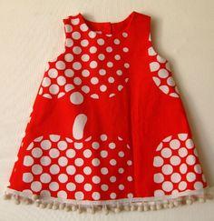 Punainen Optinen omena, 80cm Polka Dot Top, Summer Dresses, Tops, Women, Fashion, Moda, Women's, Fashion Styles, Woman