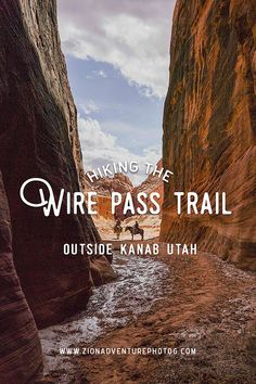 Hiking Wire Pass Trail 1 hour from Kanab, UT, hiking southern utah, hiking inspi… – Famous Last Words National Parks Usa, Zion National Park, Hiking Usa, Hiking Trails, Utah Vacation, Vacation Ideas, Family Vacations, Vacation Trips, Kanab Utah