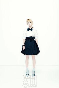 SNSD's Hyoyeon in Vogue Girl Korea November 2011