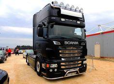 Scania in matte Black