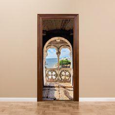 Home Decor The Cheapest Price 77x200cm 3d Self-adhesive Waterproof Door Affixed To British Big Ben Wooden Door Renovated Living Room Door Decoration Sticke