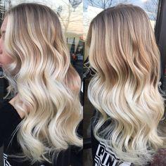 Blonde balayage done
