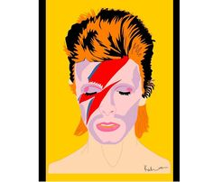Bowie Icon Poster