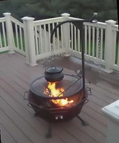 Outdoor Cooking - Backyard Fire Pit  All-in-one Fire Pit Stainless Steel