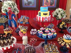 L'apparato: Super Heroes Party=The Treats