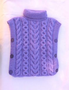 Knitting Pattern Fascination Poncho And - Diy Crafts - maallure Poncho Pullover, Poncho Sweater, Knitted Poncho, Knitted Hats, Poncho Knitting Patterns, Baby Hats Knitting, Hand Knitting, Pull Poncho, Rib Stitch Knitting