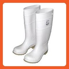 Joy Fish white boots commercial grade heavy duty for fishing, construction and general works.6) - Boots for women (*Amazon Partner-Link)