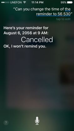 When you're not sure if 5:00pm, or 6:00pm and end up deciding 5:30pm, Siri thinks we're traveling to the future.