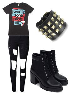 """""""Untitled #83"""" by kristal-richter on Polyvore featuring Zara, Valentino, women's clothing, women's fashion, women, female, woman, misses and juniors"""