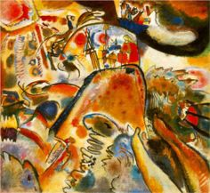 Small Pleasures 1913 -  Wassily Kandinsky
