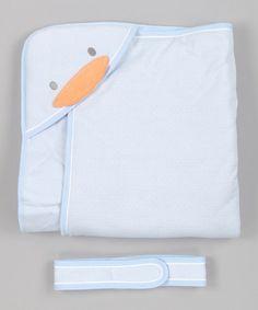 This Blue Stylish Winter Stroller Blanket by Piyo Piyo is perfect! #zulilyfinds