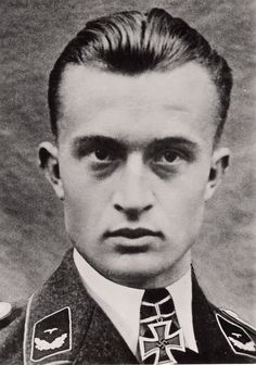 "✠ Erich ""Schmidtchen"" Schmidt (17 November 1914 – 31 August 1941) Hit by Soviet anti-aircraft fire east of Velikiye Luki. Baling out behind enemy lines, he was never seen again."