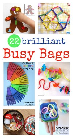 22 brilliant busy bags for babies, toddlers and preschool - NurtureStore easy busy bag ideas for babies, toddler busy bags, quiet time ideas for kids Toddler Busy Bags, Toddler Play, Toddler Preschool, Toddler Games, Toddler Activity Bags, Busy Kids, Toddler Travel, Toddler Learning, Teaching Kids
