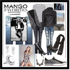 """""""Winter Aesthetic with Mango and That's Chic"""" by bdpotena on Polyvore"""