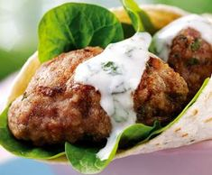 Recipe Greek Style Kofta Wraps by Em's Thermie Fun, learn to make this recipe easily in your kitchen machine and discover other Thermomix recipes in Main dishes - meat. Greek Dishes, Main Dishes, How To Cook Mince, Bellini Recipe, Recipe Community, Lunches And Dinners, Main Meals, Tandoori Chicken, Meat Recipes