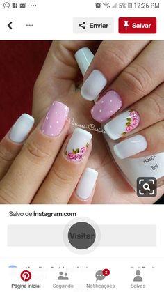 Love Nails, Pretty Nails, Natural Updo, Nail Designs, Nail Polish, Art Nails, Camellia, Makeup, Beauty