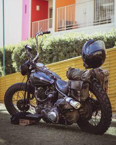 "49 mentions J'aime, 1 commentaires - Dustin Wheelen (@freewheelen_) sur Instagram: ""Road Warrior👨🎤"" Harley Davidson Motorcycles, Instagram, Motorbikes"