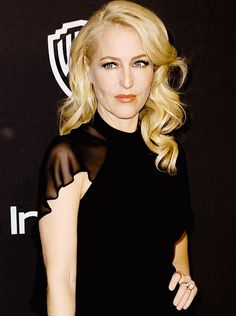 Gillian Anderson | the 16th Annual Warner Bros. and InStyle Post-Golden Globe Party. (January 11, 2015)