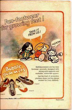 1983 Bata BubbleGummer Ad
