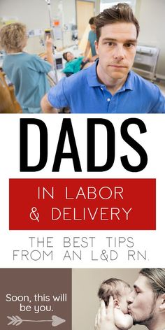 These tips for dads during labor from an L&D RN will help you BOTH be a lot more comfortable in the delivery room. We'll talk support, snacks and even what to wear! Parenting Humor, Parenting Tips, Parenting Books, Delivery Room, Natural Birth, All Family, After Baby, Pregnant Mom, New Dads