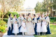 Gold + Navy Winter Hilton Head SC Wedding at Sea Pines Resort   Dana Cubbage Weddings   Charleston SC Wedding Photography