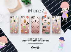 imush calling✨iphone7📱. . . Click on bio to shop I created on @Casetify. 🙋…