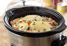 Campbell's Slow Cooked Creamy Chicken & Wild Rice Recipe